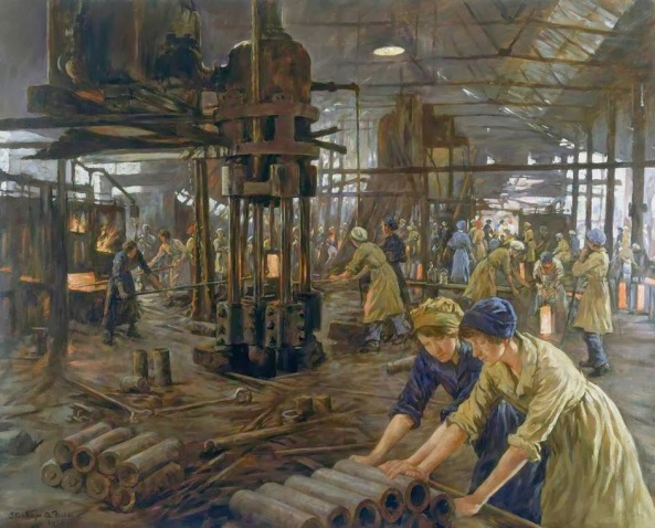Stanhope Alexander Forbes - The Munition Girls (1918)