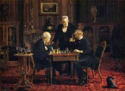 Thomas Eakins - The Chess Players (1876)