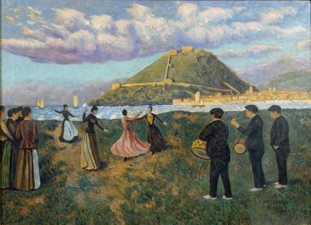 Dario Regoyos - Fiesta vasca (1890)