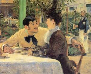 Manet - Chez le père Lathuille (1879)