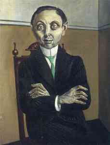 Otto Dix - Portrait of Paul F. Schmidt (1921)