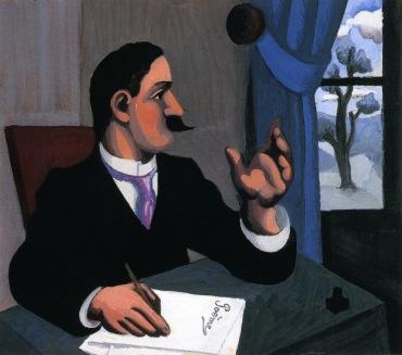 Roger de la Fresnaye - El Poeta (1920)