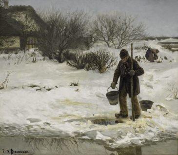 Hans Andersen Brendekilde - Tøsne (1895)