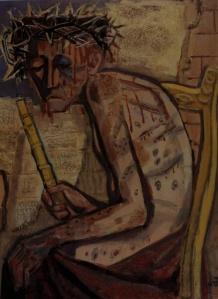Otto Dix - Ecce homo III (1949)