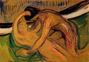 Munch - Cupido (1907)