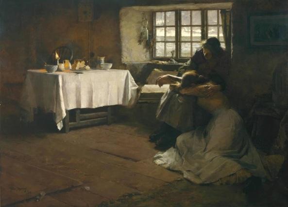 frank-bramley-a-hopeless-dawn-1888