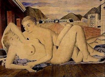 paul-delvaux-los-amantes-1946
