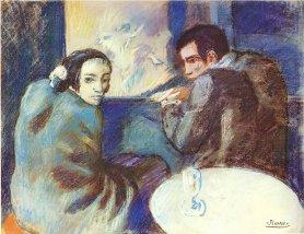 picasso-scene-in-a-cabaret-1902