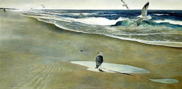andrew-wyeth-on-the-beach