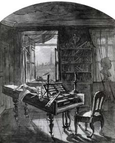 j-n-hoechle-la-habitacion-de-beethoven-1827
