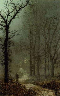 john-atkinson-grimshaw-lovers-in-a-wood-1873