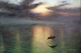 joseph-farquharson-amanecer-1903