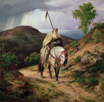 karl-friedrich-lessing-last-crusader-1835