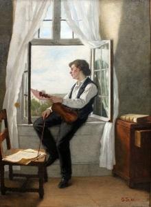 otto-scholderer-el-violinista-en-la-ventana-1861