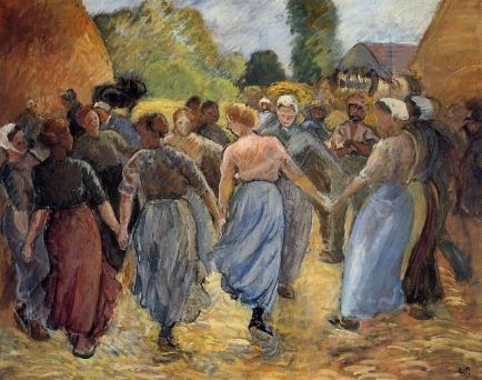pissarro-the-roundelay-1892