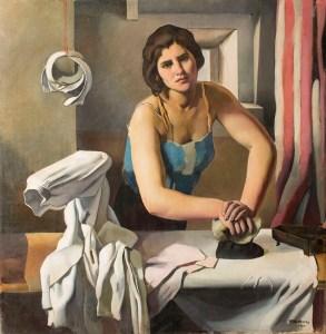 roberto-fernandez-balbuena-la-planchadora-1930