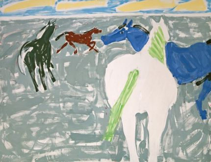 stephen-pace-four-horses-1974