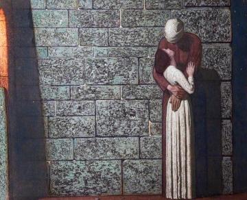 Robinson, Frederick Cayley; The Farewell; Leamington Spa Art Gallery & Museum; http://www.artuk.org/artworks/the-farewell-54453