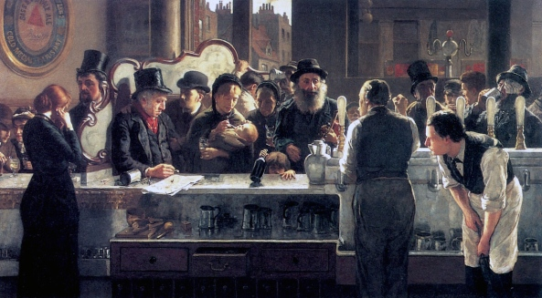 john-henry-henshall-behind-the-bar-1882