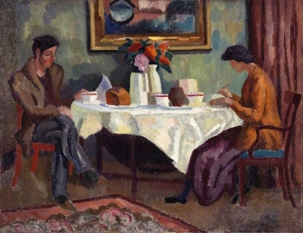 roger-fry-the-breakfast-table-1918