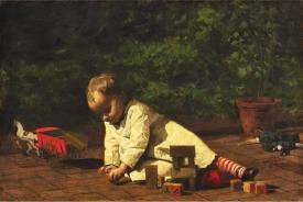 thomas-eakins-baby-at-play-1876