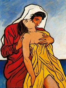 francis-picabia-hombre-y-mujer-a-la-orilla-del-mar
