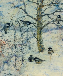 frank-benson-birds-in-winter-1946