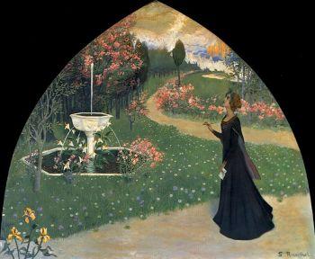 santiago-rusinol-alegoria-de-la-poesia-1895