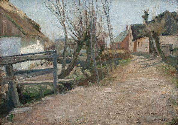 albert-gottschalk-early-spring-in-glostrup-1887