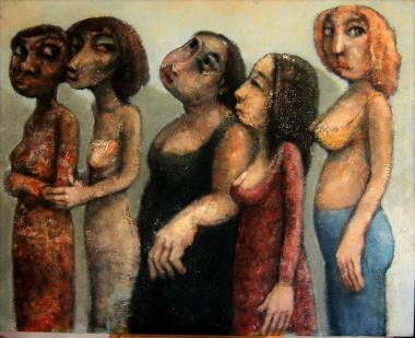 felix-de-la-vega-cinco-mujeres