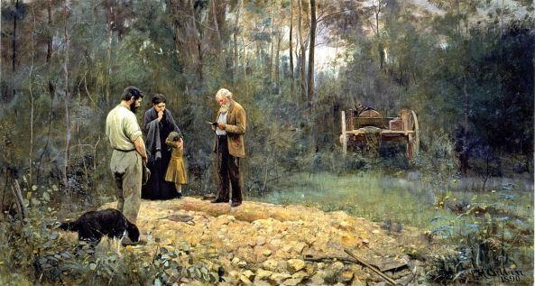 frederick-mccubbin-a-bush-burial-1890